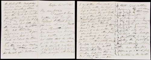 Autograph Letter, signed to cousin Jane about trip to Liberia