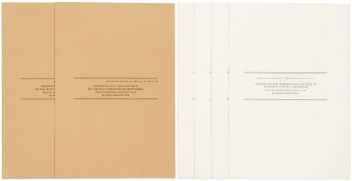 Two ornithological offprints by Ray, reprinted from The Condor