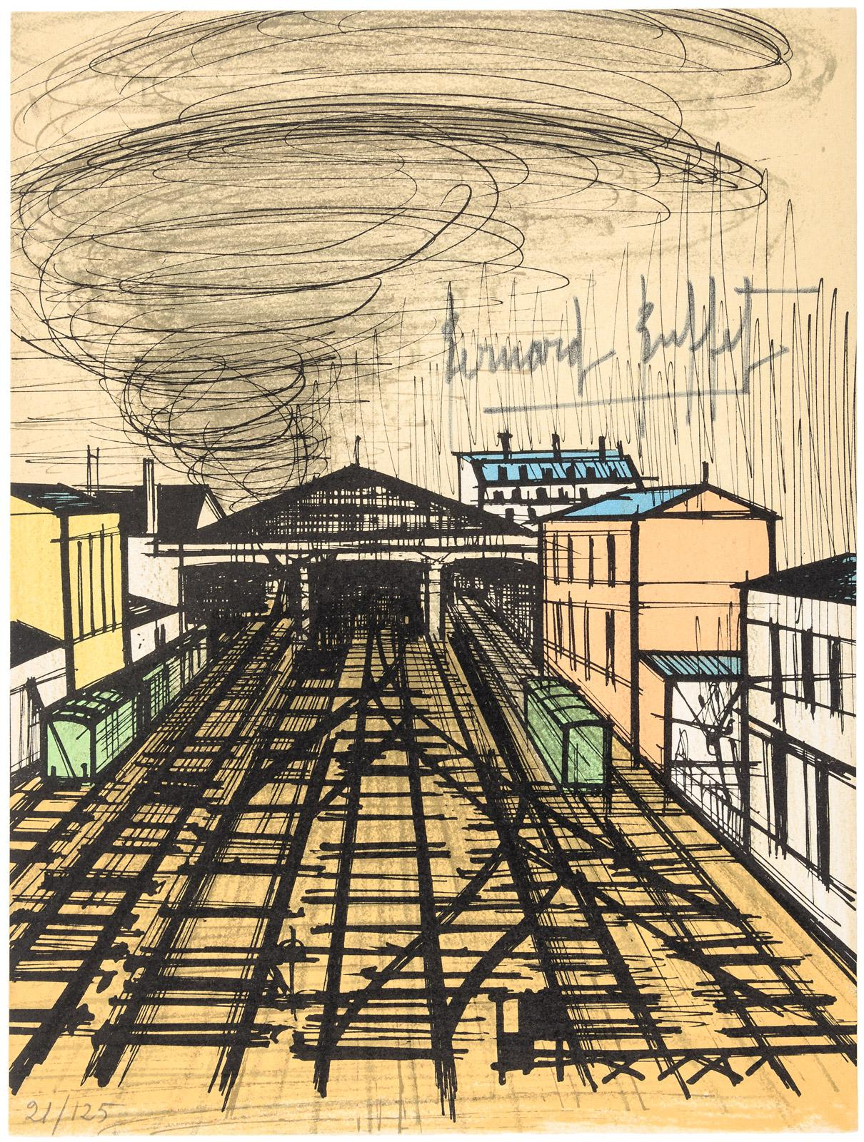 Remarkable Bernard Buffet Lithographs 1952 1966 Price Estimate Download Free Architecture Designs Boapuretrmadebymaigaardcom