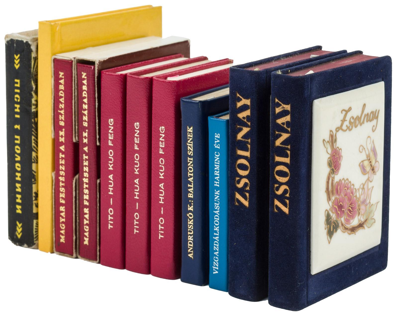Fifty-five European miniature books - Price Estimate: $10 - $100