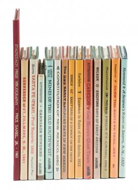 Thirteen volumes of Western Americana from the Stagecoach Press