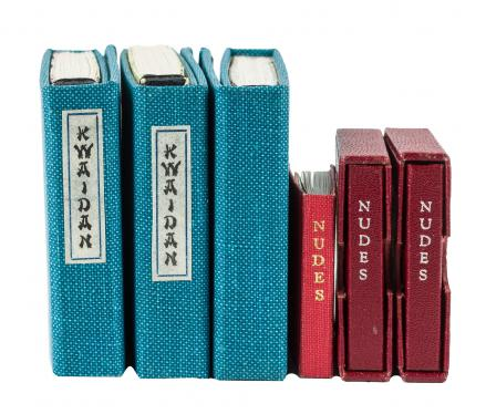 Six miniature books from the Garden View Press