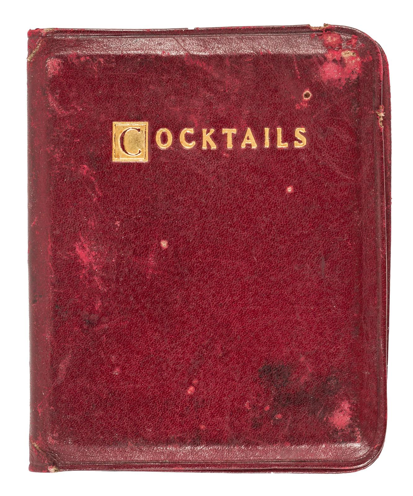 The Tiny Book on Cocktails - Price Estimate: $400 - $600