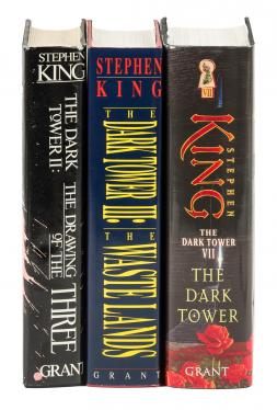 Three volumes from the Dark Tower series