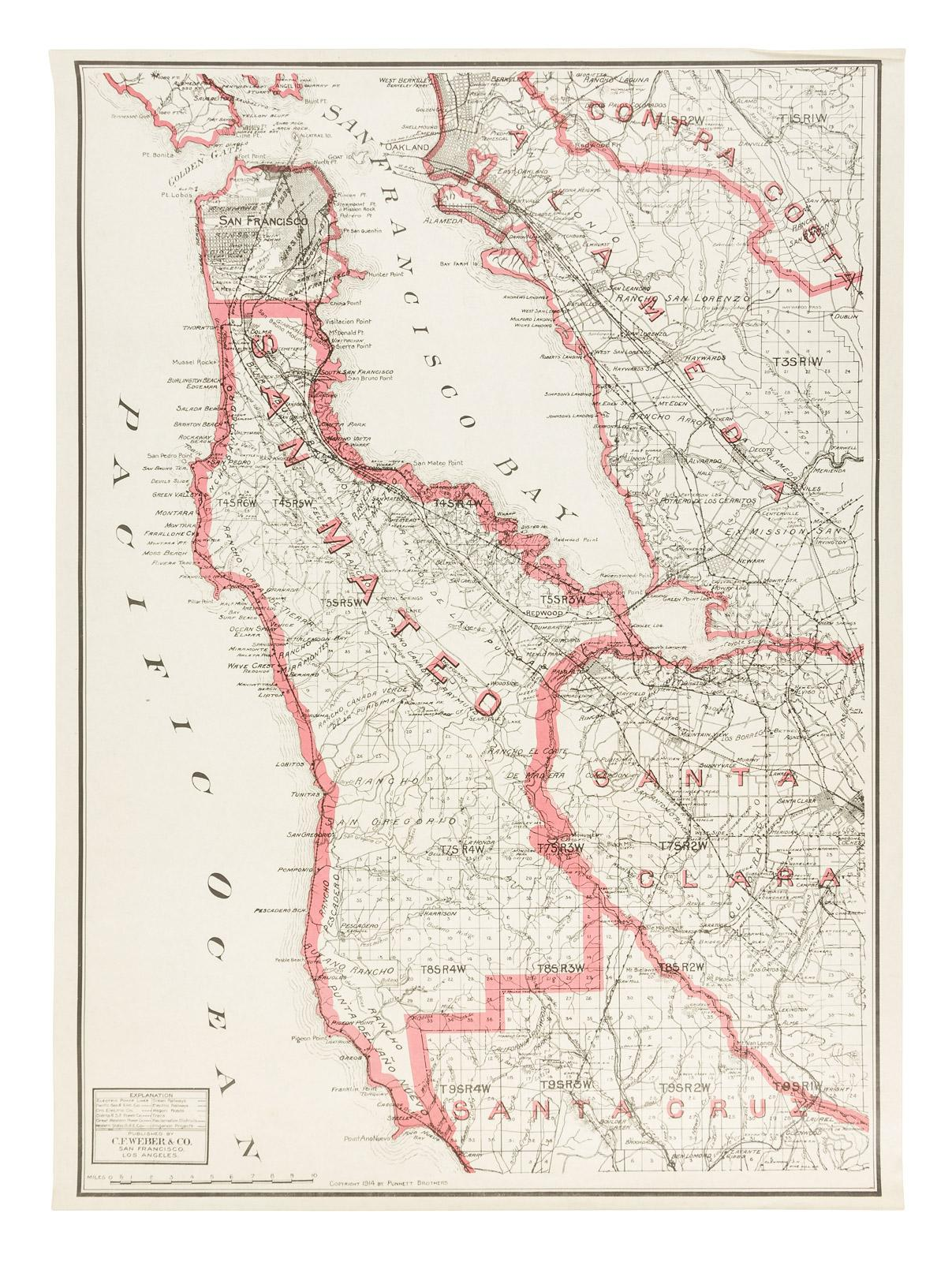 Weber's map of San Mateo County, California] - Price ... on orange county, marin county map, solano county, san jose, santa barbara county, alameda county map, foster city county map, santa clara county, los angeles county, fort bragg county map, beverly hills county map, alameda county, san francisco, santa cruz county, paso county map, california map, contra costa county, east los angeles county map, visalia county map, county connection map, san diego county, thousand oaks county map, sweet grass county map, chula vista county map, san francisco bay area, ventura county, marin county, sonoma county, santa barbara county map, redwood city, santa clara county map, monterey county map, menlo park, monterey county, daly city, burbank county map, ventura county map, van nuys county map, sausalito county map,