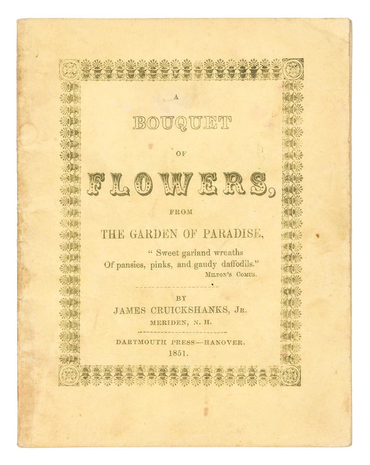 A Bouquet Of Flowers From The Garden Of Paradise Price Estimate