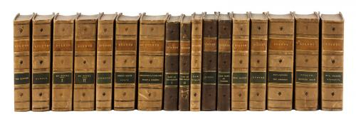 Eleven volumes by Sir Edward Bulwer-Lytton