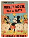Mickey Mouse Has a Party. A School Reader