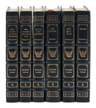 Easton Press Edition of Nixon's Lifetime Works