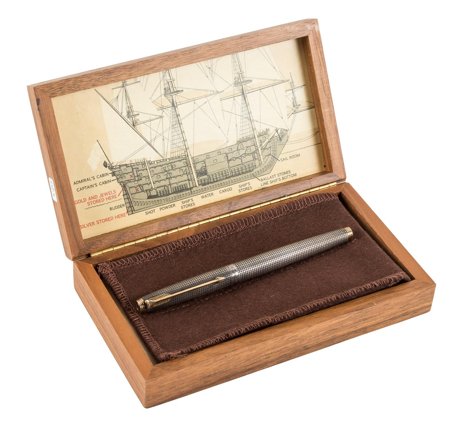 Parker 75 Spanish Treasure Fleet Limited Edition Fountain Pen [with
