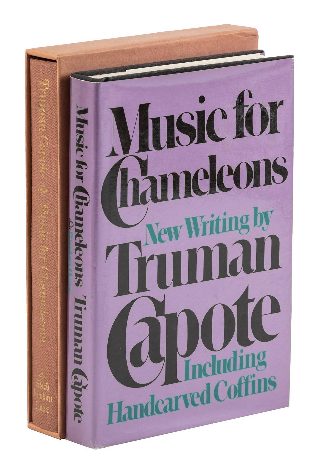 music for chameleons capote truman