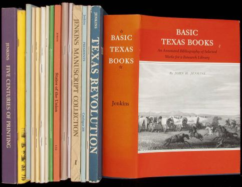 Collection of bibliographic works consisting mostly of John H. Jenkins...