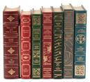 Seven Franklin Library Editions - several signed