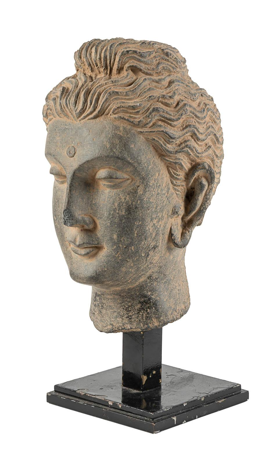 Sculpture Of The Head Of Buddha Price Estimate 10000 15000