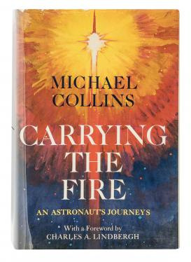 Carrying the Fire signed by Michael Collins