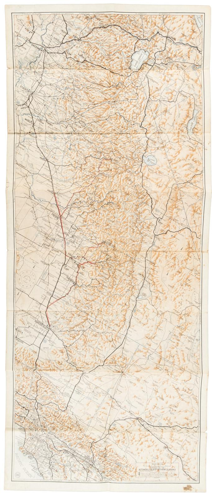 Automobile road map of the east central section of ... on napa county road map, central california relief map, california coast map, alameda county road map, nevada road atlas map, yosemite valley road map, los angeles road map, central valley california map, san joaquin county road map, northern new hampshire road map, pasadena road map, big sur road map, california highway map, contra costa county road map, san luis obispo california map, northern california map, santa rosa road map, san francisco bay area road map, central california town map, central california river map,