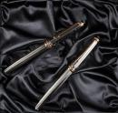 MONTBLANC: Meisterstück Solitaire 144 Barleycorn 1924 Anniversary Limited Edition Fountain Pen and Ballpoint Pair