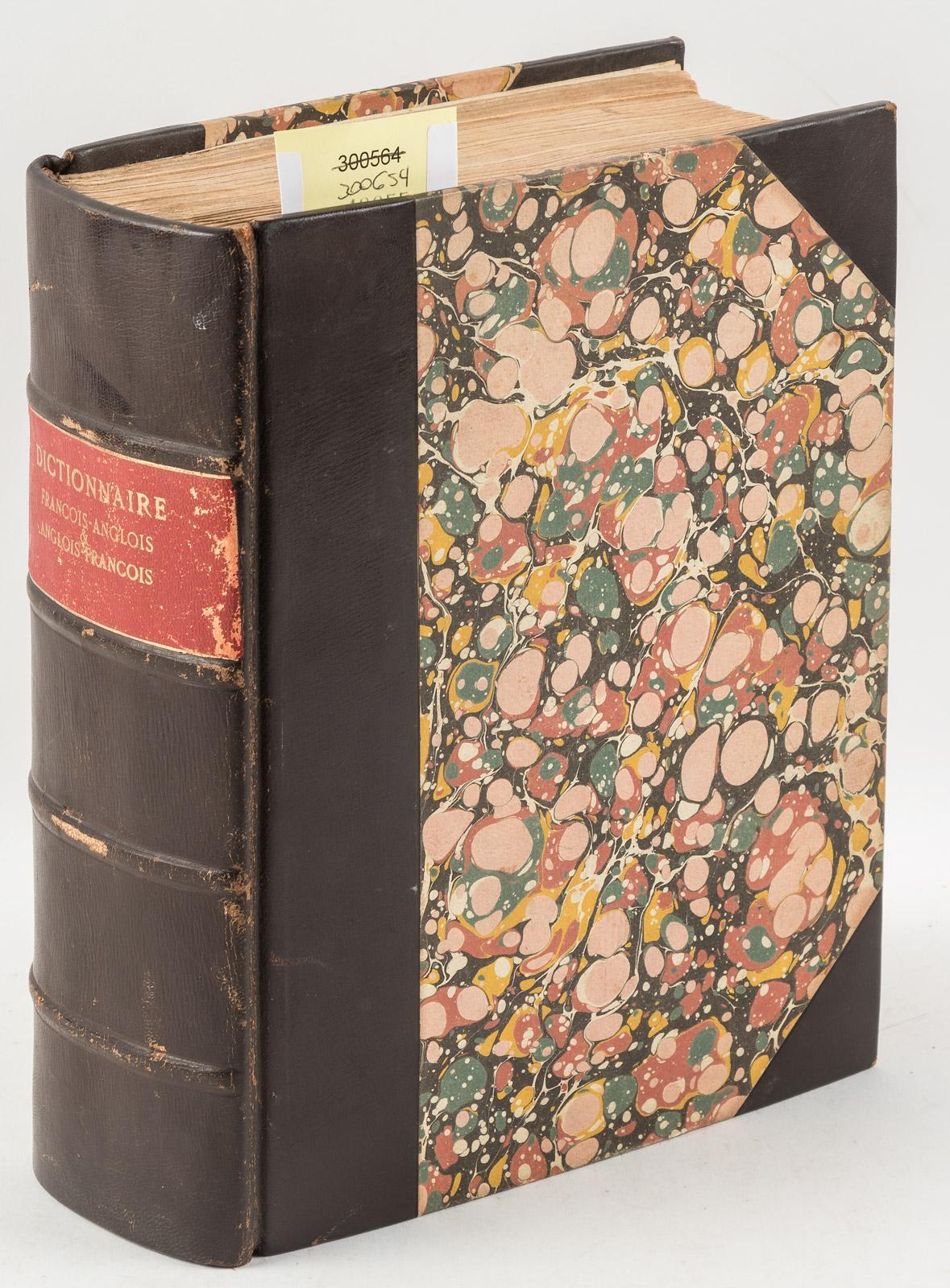 Anglois nouveau dictionnaire françois-anglois, & anglois-françois