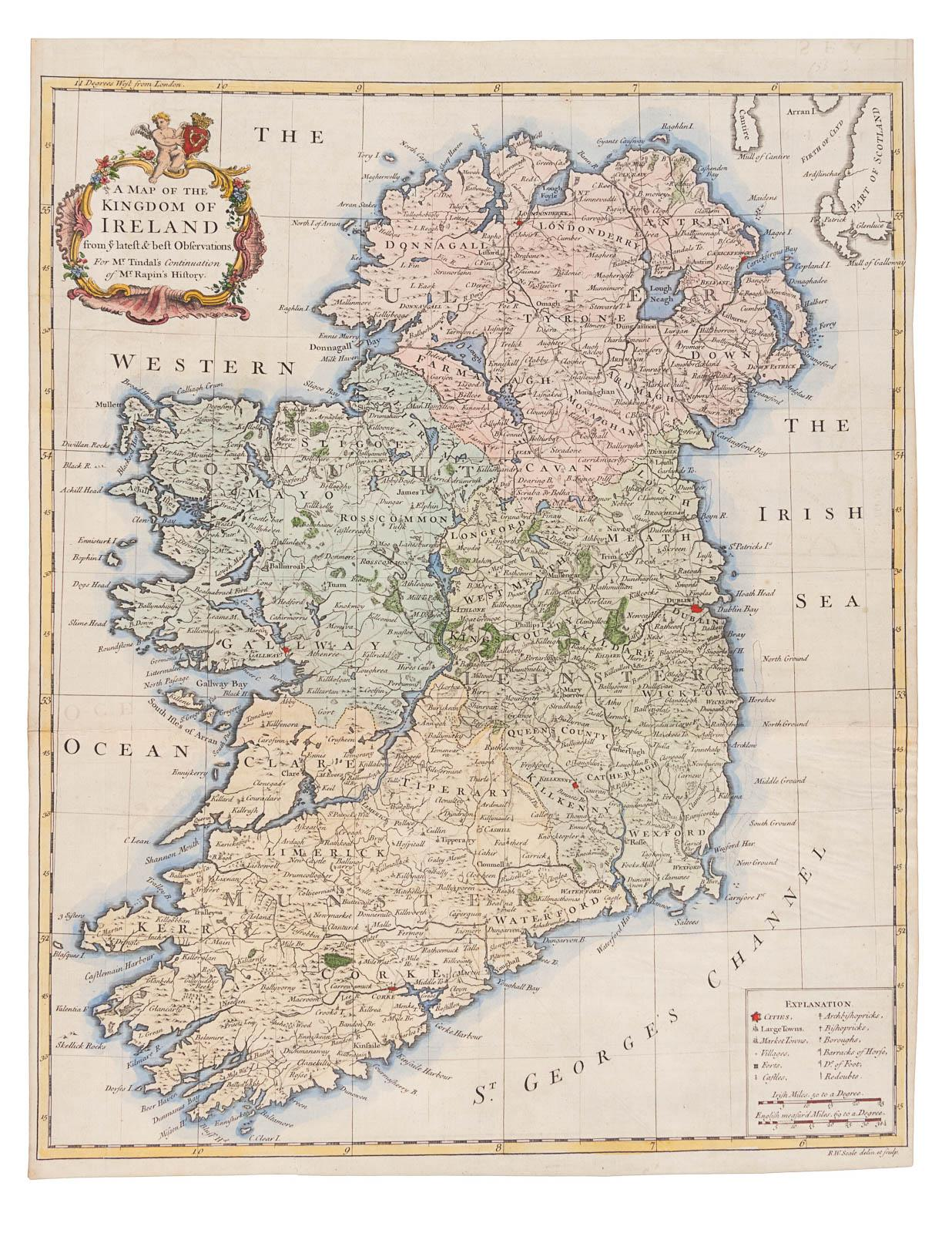 A Map of the Kingdom of Ireland from ye Latest & Best Observations Kingdom Of Ireland Map on republic of china map, democratic republic of the congo map, southern ireland map, kingdom of ireland flag, union of soviet socialist republics map, isle of man map, duchy of milan map, republic of ireland map, provinces of ireland map, grand duchy of tuscany map, confederate states of america map,