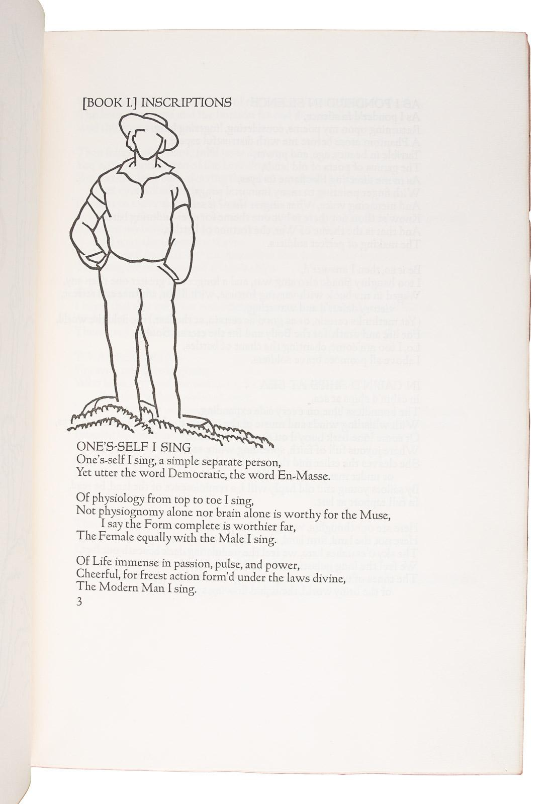 Leaves of Grass  Comprising all the Poems written by Walt