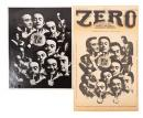 Photomontage of Lenny Bruce used for the cover of the Aug 16, 1968 issue of Zero
