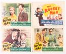 "Set of 8 lobby cards and the Exhibitor's Campaign Book for Bruce's 1954 20th Century Fox film ""The Rocket Man"""