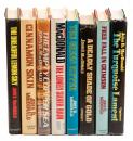 Eight titles by John D. MacDonald