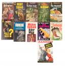 Ten mystery and detective paperbacks
