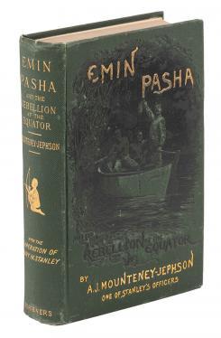 Emin Pasha and the Rebellion at the Equator, 1st US Ed.