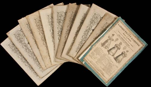 Large collection of The Penny Magazine, 1832-1840