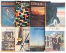 Eight issues of 1930's & 1940's Fortune Magazine all featuring photographs by Walker Evans