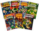 CAPTAIN MARVEL: Lot of Seven Issues