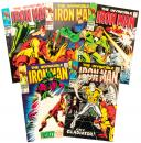 IRON MAN: Lot of Five Issues