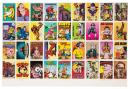 Uncut Sheet of R. Crumb Trading Cards, Signed Limited Edition of 35