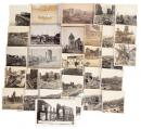 Collection of photographs and postcards depicting San Francisco after the 1906 earthquake and fires