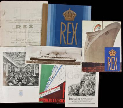 Small group of items relating to Rex