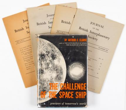 Four articles published in the Journal of the British Interplanetary...