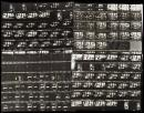Jimi Hendrix - Eight contact sheets with approx. 30 photographic images apiece of Jimi Hendrix performing on stage