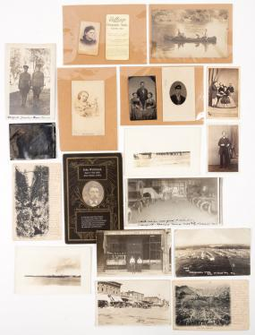 Collection of Photographs in Various Mediums; Carte de Visite, Tintype...