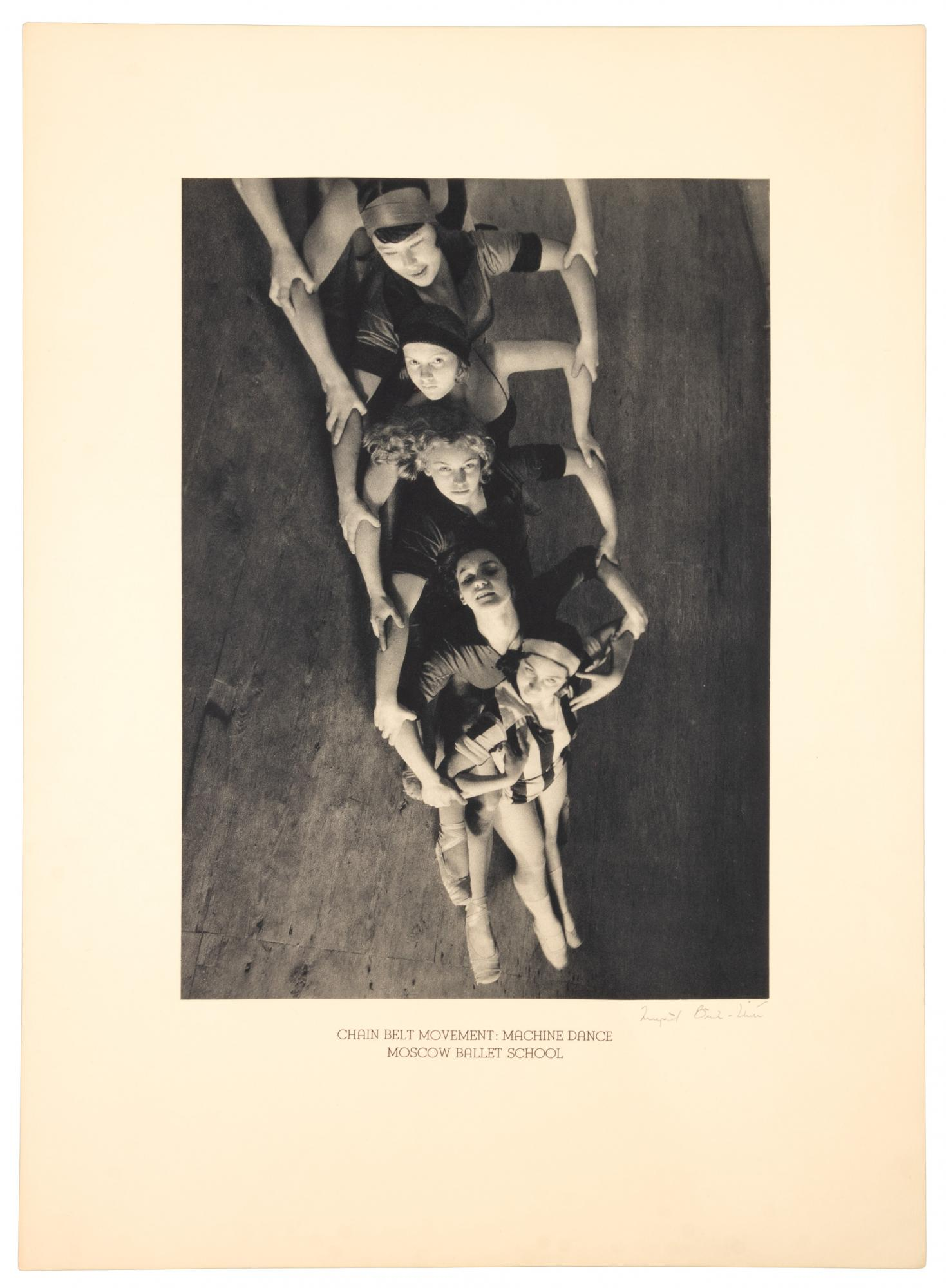 Siged by Margaret Bourke-White