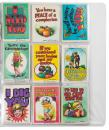 "Lot of 22 Topps ""Monster Cards"" Signed by R. Crumb"