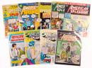 AMERICAN SPLENDOR: Lot of 19 Issues [plus] Harvey Pekar Bobbing Head Doll