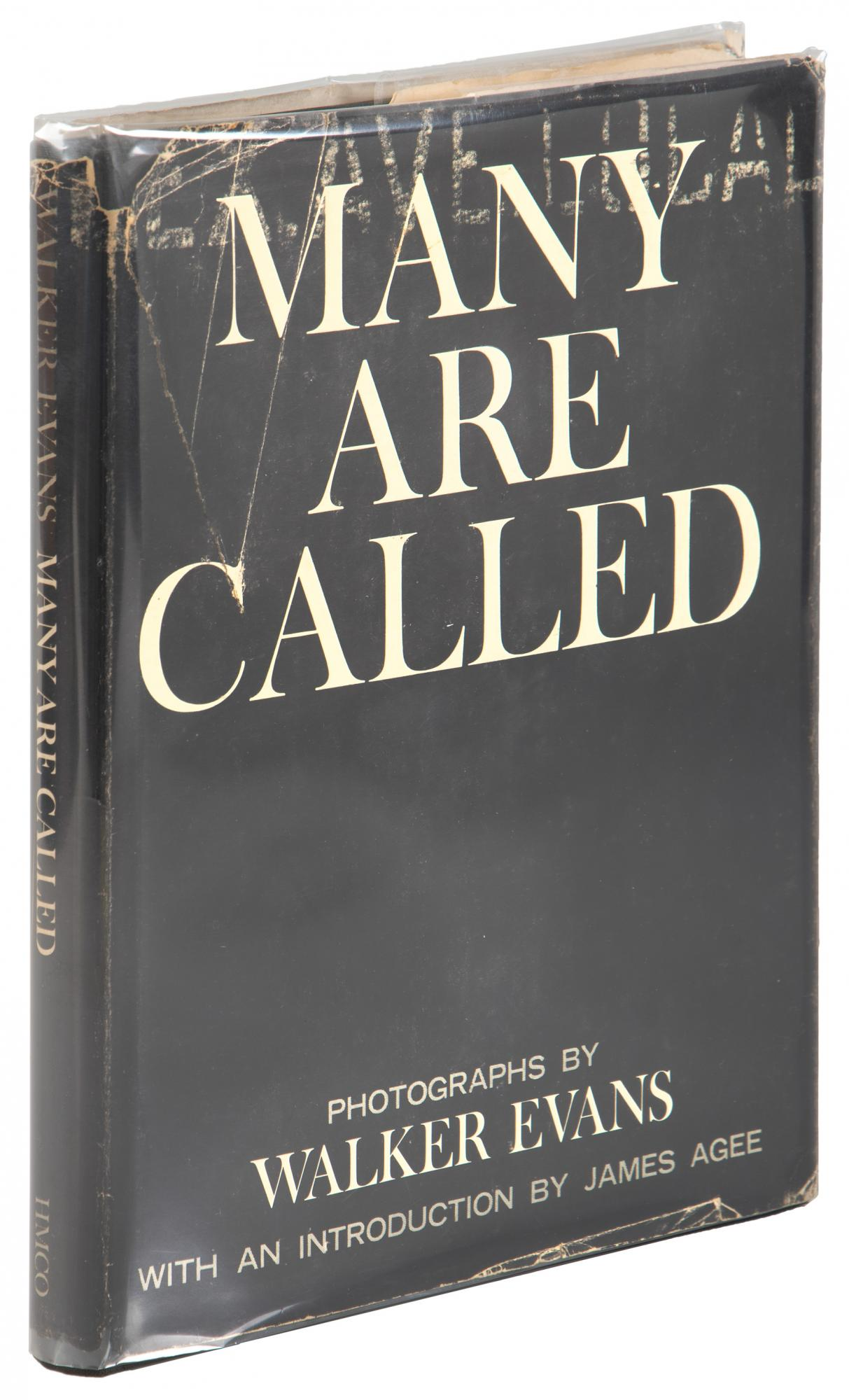 Walker Evans, Many Are Called 1st Edition in jacket