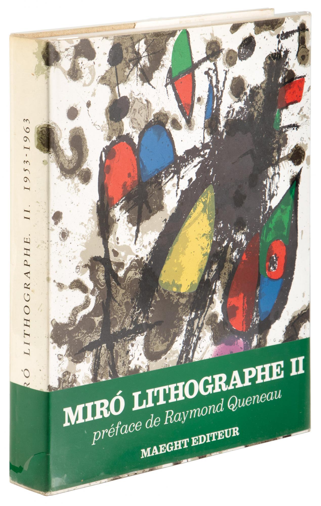 Joan Miro Lithographe II 1953-1963
