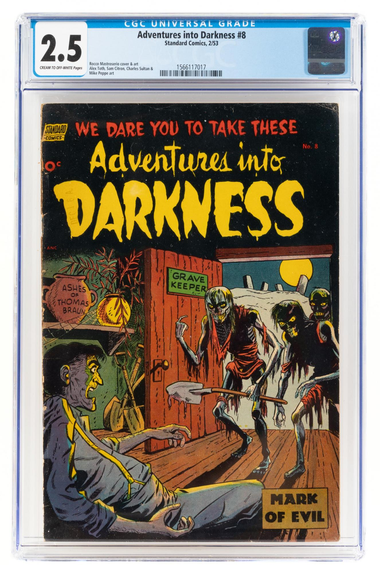 Pre-Code Horror, Golden Age, Silver Age & Undergrounds