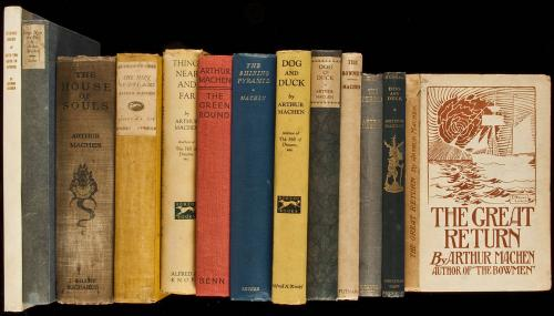 Large collection of books by Arthur Machen