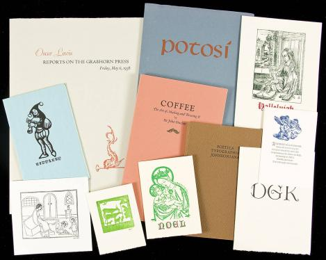 Large collection of books and ephemera from Don and Kathi Fleming's Press...