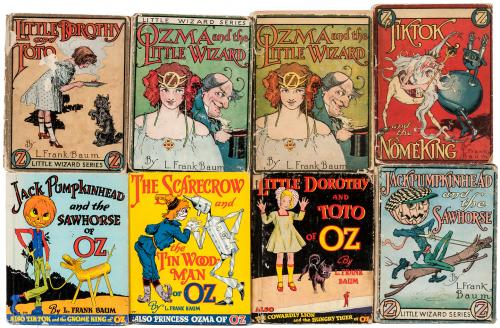 Eight volumes from the Little Wizard series