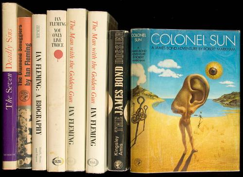 Eight volumes by, about, after, or with contributions by Ian Fleming