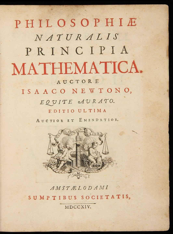 Philosophiae Naturalis Princip...